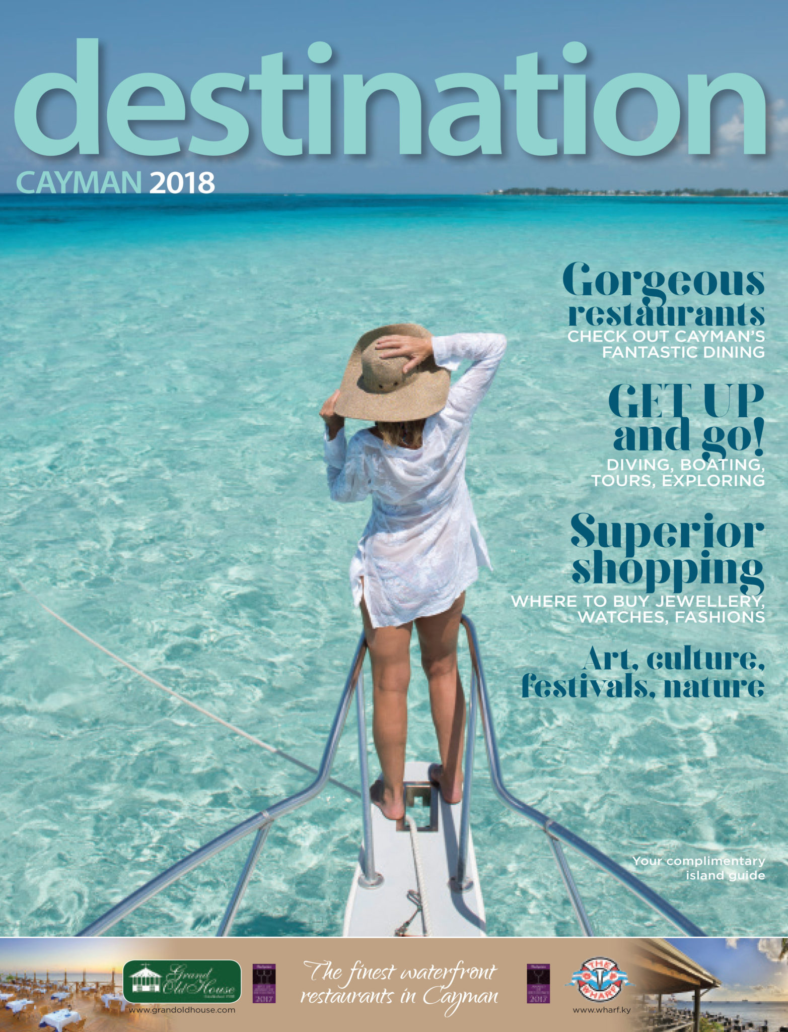 Destination Cayman Magazine 2018