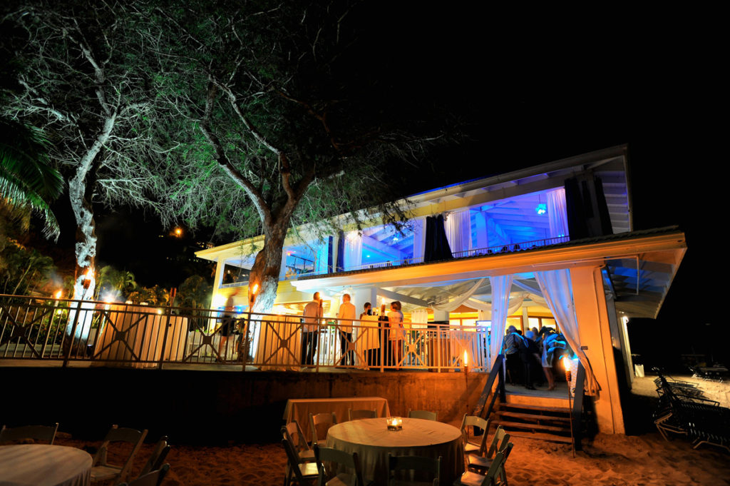 HAVANA BLUE restaurant on St. Thomas in the U.S.Virgin Islands