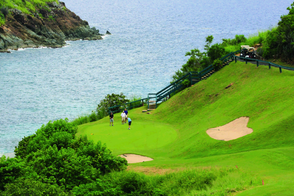 Mahogany Run Golf Course on St.Thomas