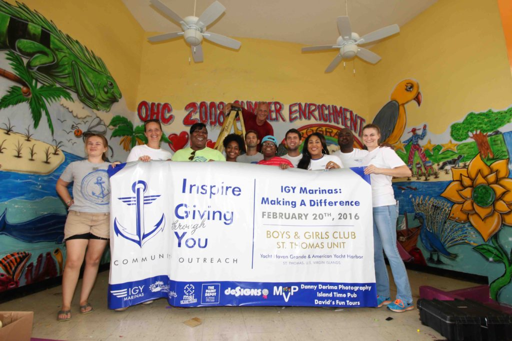 THE DIFFERENCE A DAY MAKES – IGY MARINAS PARTNERS WITH OVER 300 VOLUNTEERS TO SUPPORT SEVEN (7) LOCAL CHARITIES ACROSS SIX (6) COUNTRIES
