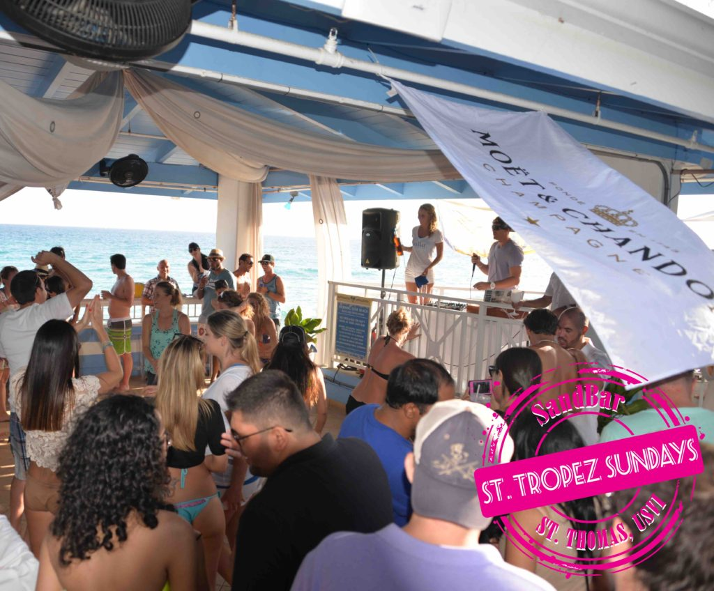 SandBar – one of the best beach bars in the Caribbean