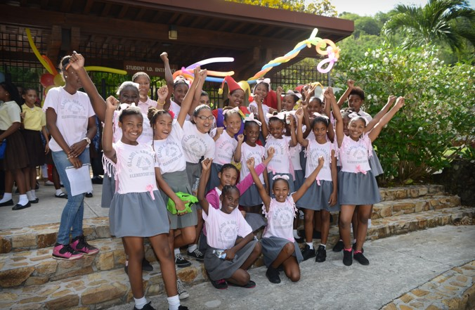 International Capital & Management Company hosts St. Thomas' 12th Annual Student Hall of Hope Art Exhibition & Fun Day