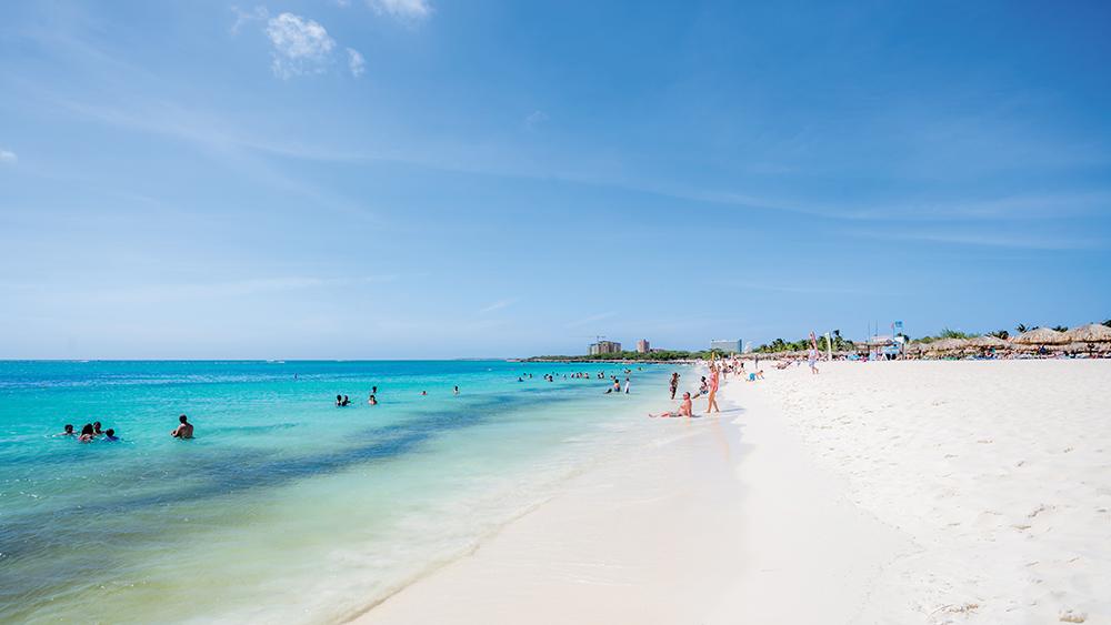 Eagle Beach - best beaches on Aruba