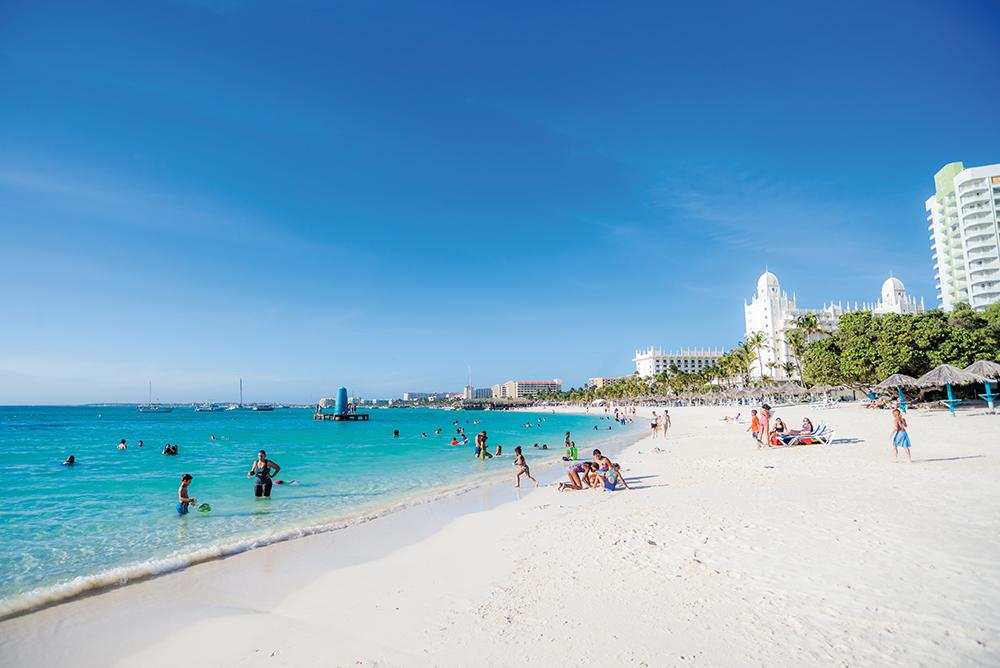 Palm Beach - best beaches on Aruba