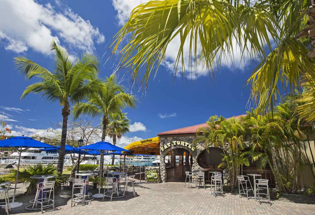 Fat Turtle, a Rockin' Caribbean Roadhouse on St. Thomas in the U.S.Virgin Islands