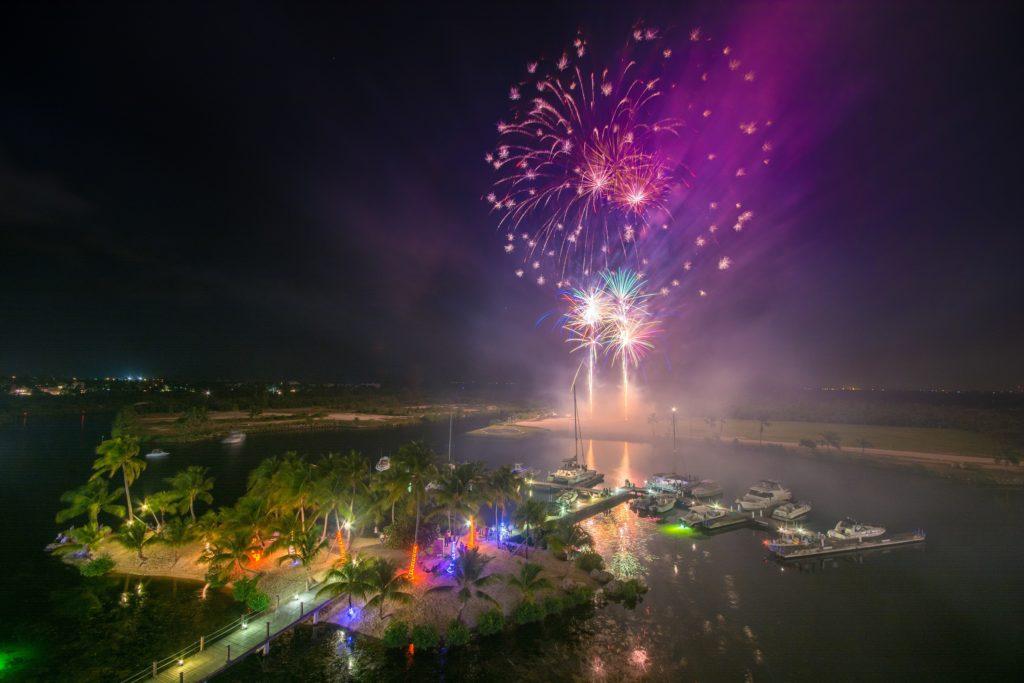 Fireworks at Camana Bay