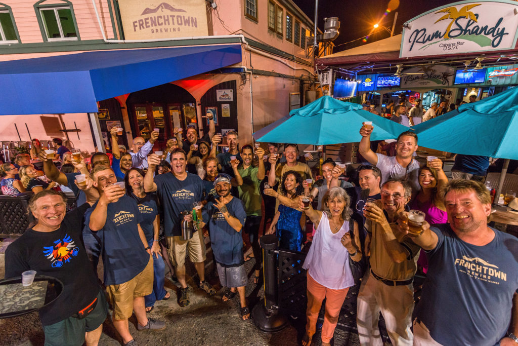 Frenchtown Brewing Celebrates first Anniversary on St. Thomas.