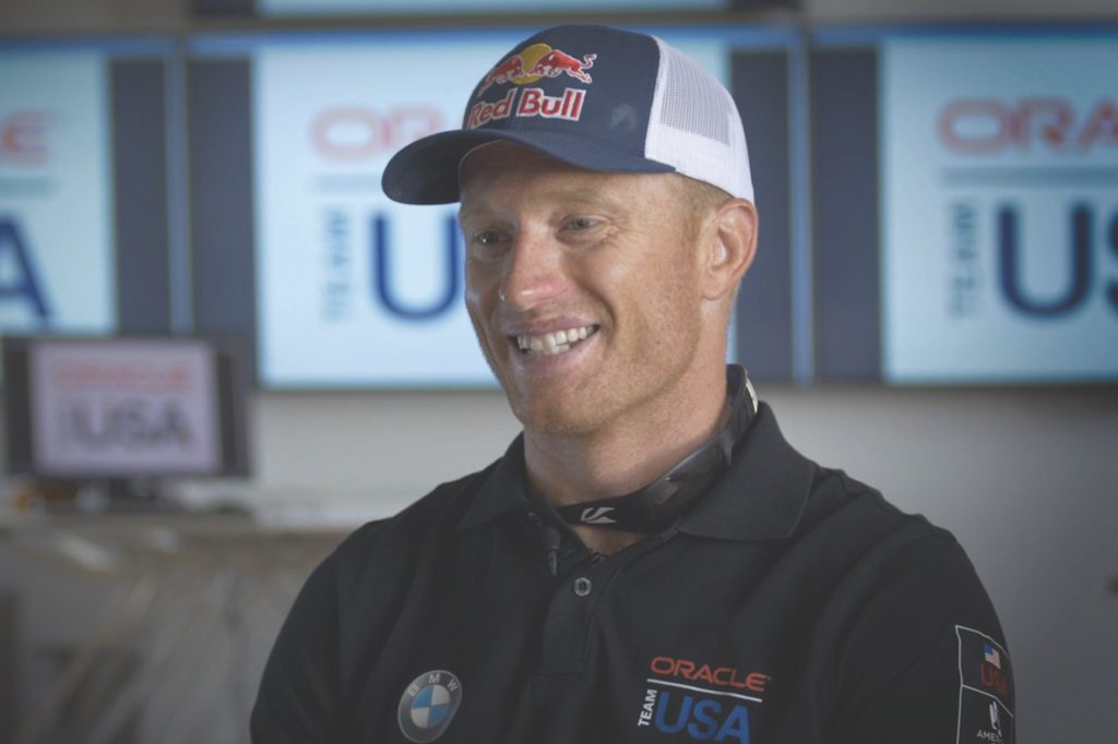 Team Oracle USA Skipper Jimmy Spithill
