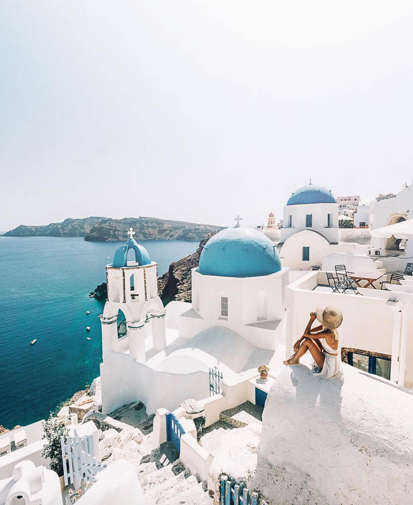 Santorini, Greek Islands, Do you travel x gypsea lust