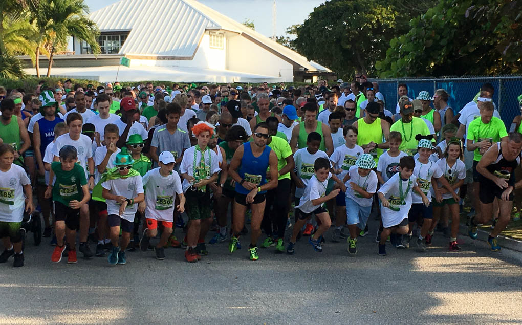 Grand Cayman's St Patrick's Day jog raises thousands for charity