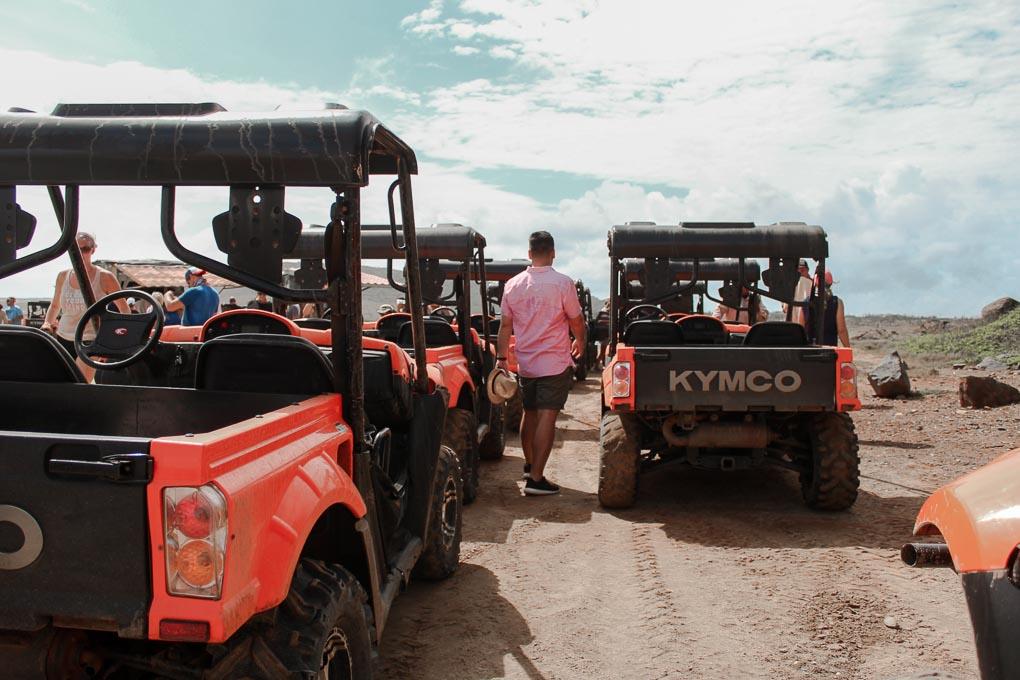 Pelican Private Jeep Tour Aruba Vacation