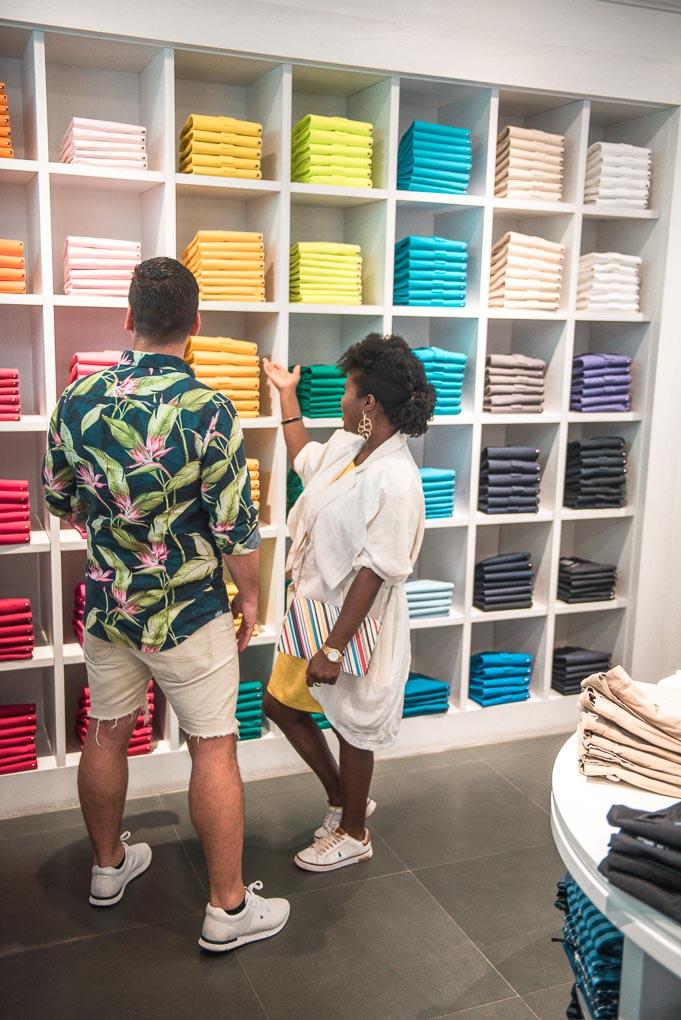 Shopping in Aruba