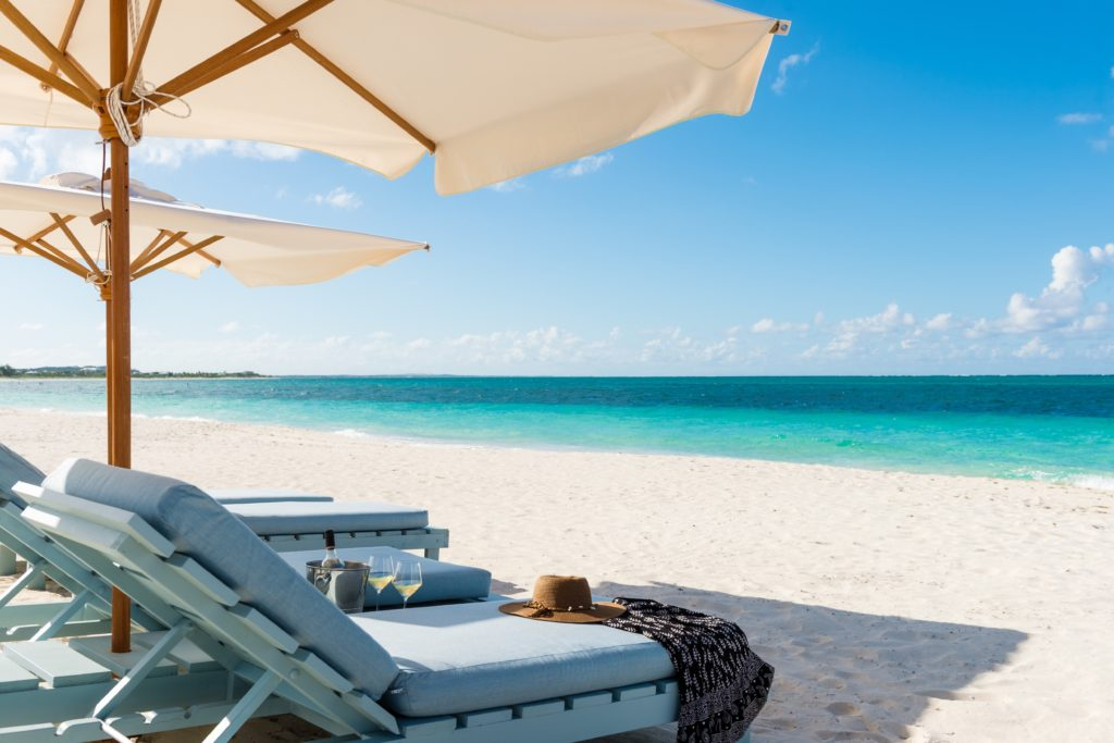 Where to stay on Turks and Caicos: Beach House, Grace Bay