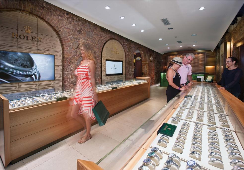 Rolex boutique - rgb