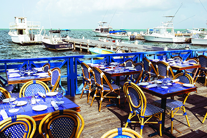 Best places to eat for a view in Grand Cayman