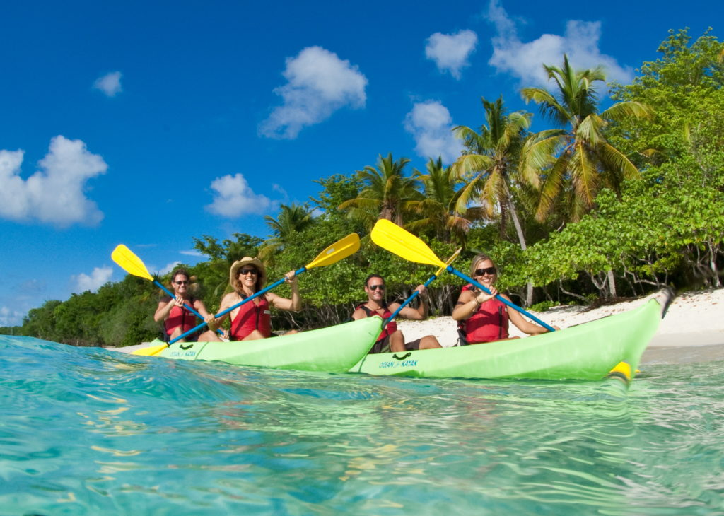 Kayak, hike and snorkel adventures on St. Thomas and St. John