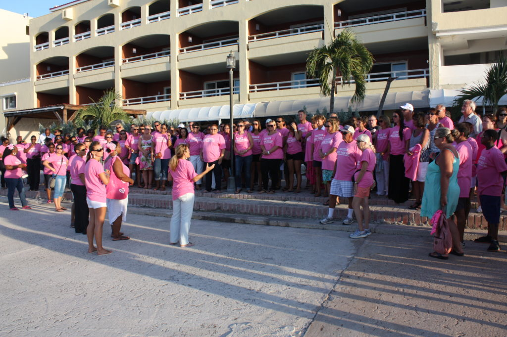 Aqua Mania Adventures' Pink Sunset Sail raised over $2500 for Breast Cancer Awareness Foundations