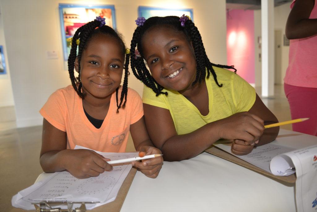 Kids enjoying activities at NGCI