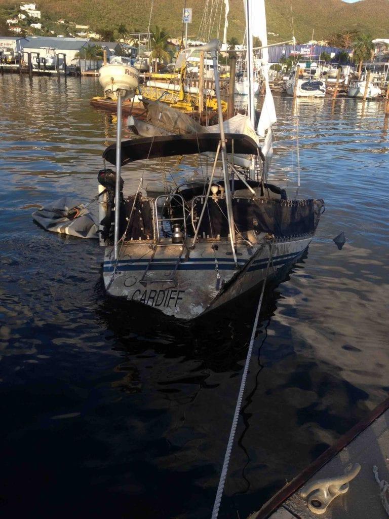 SXM sailing 2