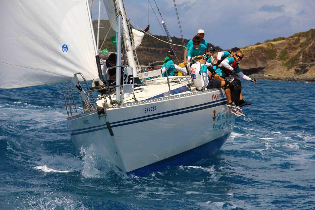 SXM sailing 3