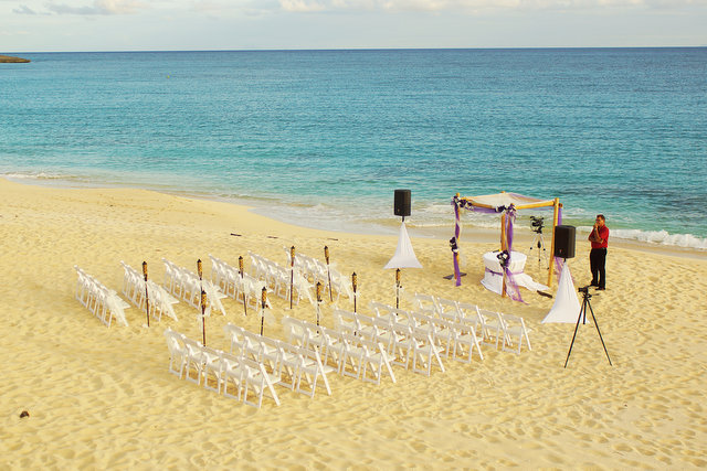 Destination Wedding on St. Maarten St. Martin