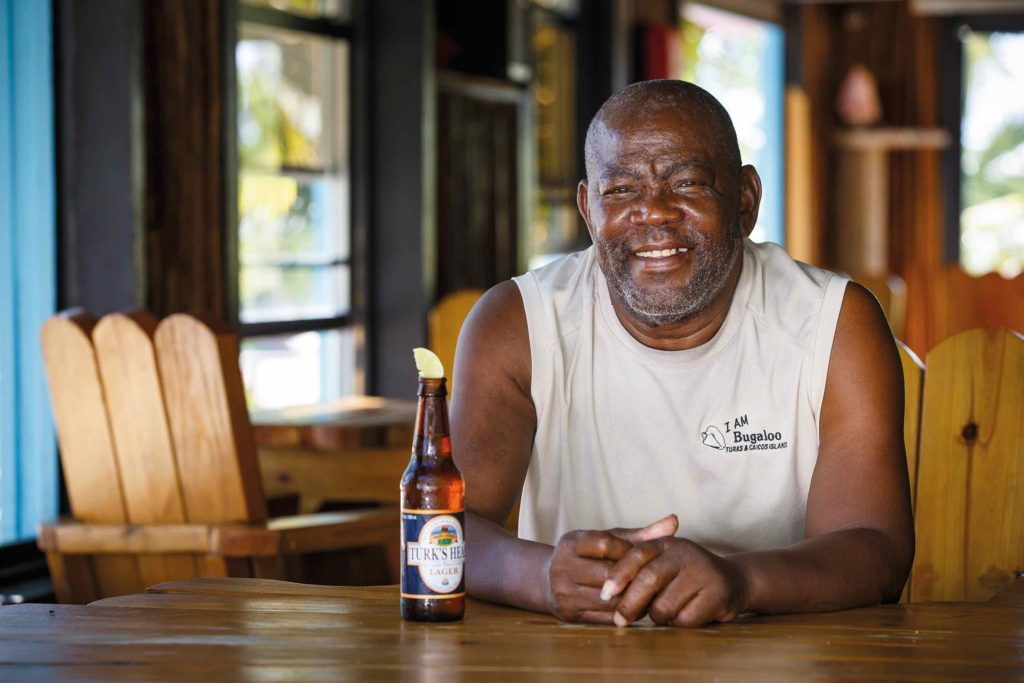 We meet the man behind Turks and Caicos' famous Bugaloo's