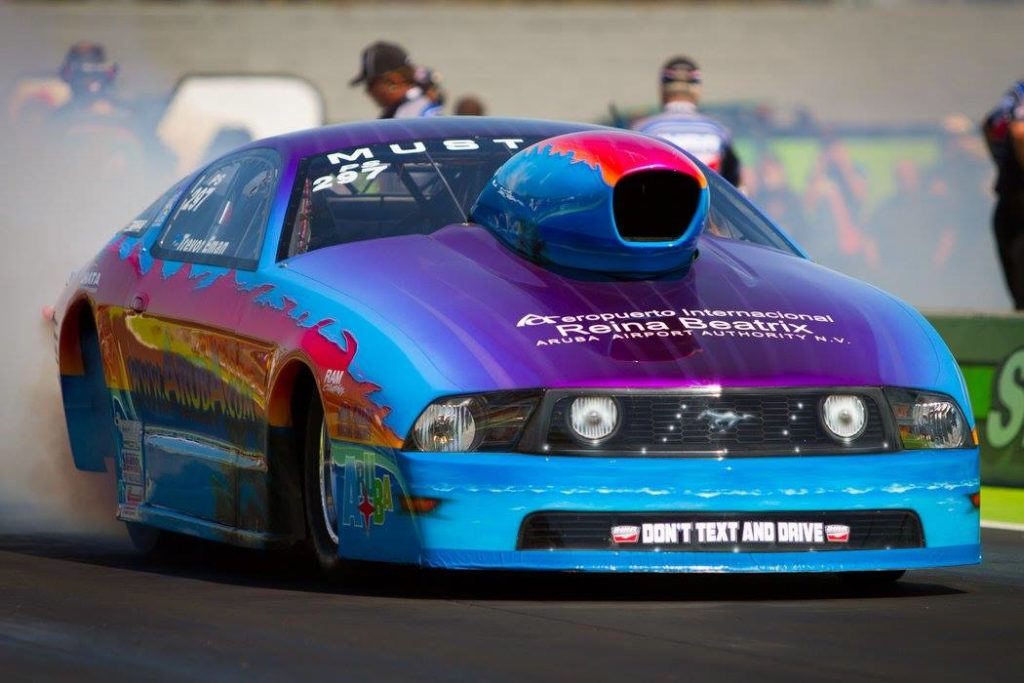 Team Aruba Makes Longest Trek of the Season to Compete at IHRA Texas Nationals