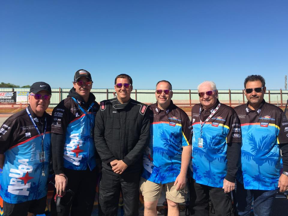 Team Aruba Goes to Finals at IHRA Texas Nationals