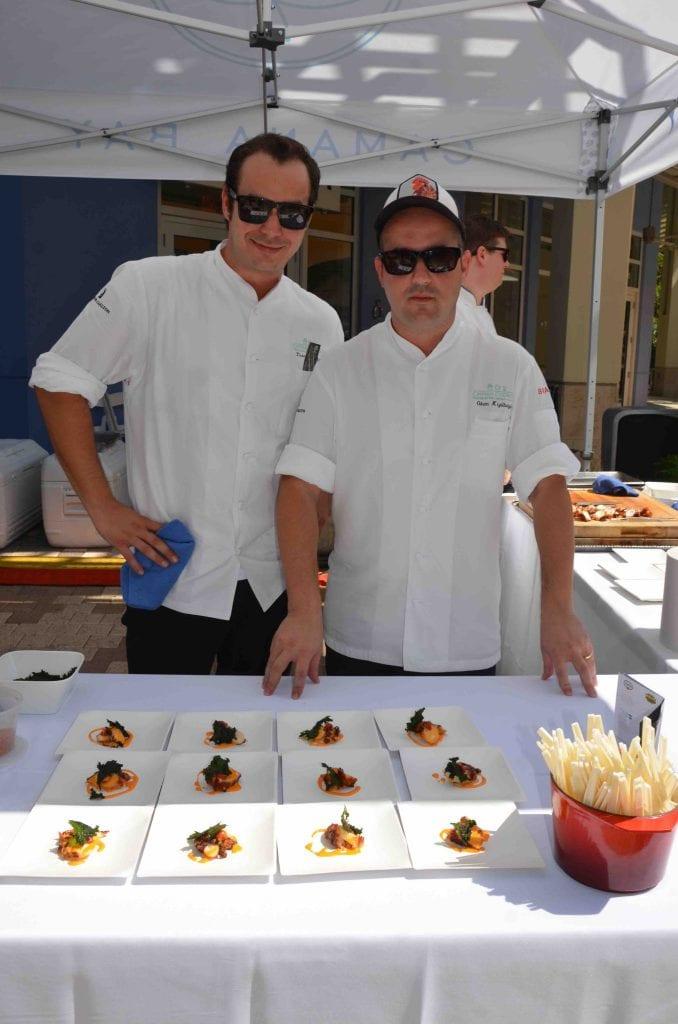 Ritz-Carlton Blue chefs copy