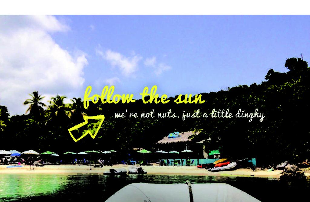 US Virgin Island's Dinghy's Beach Bar & Grill