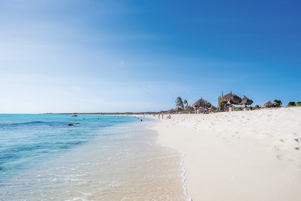 Arashi Beach - best beaches on Aruba