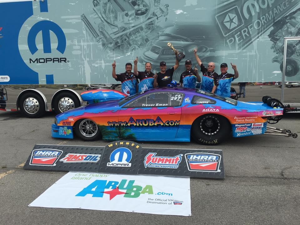Third Time's the Charm for Team Aruba – IHRA Canadian Nationals