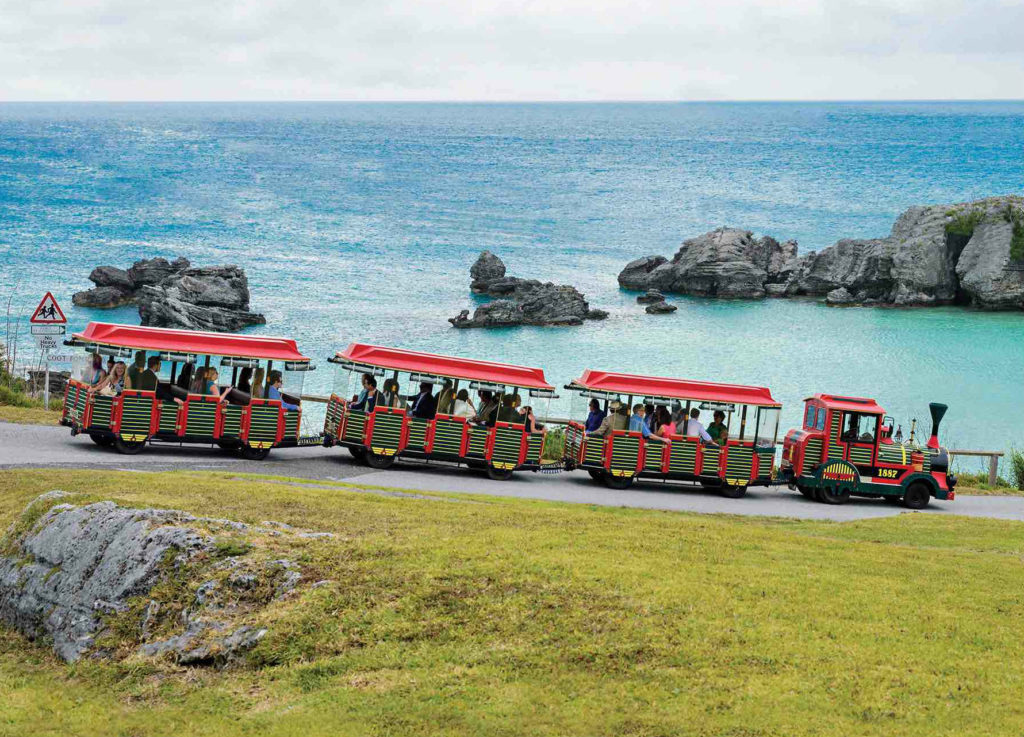 Getting around Bermuda by bus, ferry, scooter & automobile
