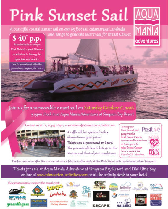 Don't miss the boat! Final days to purchase tickets for the Pink Sunset Sail