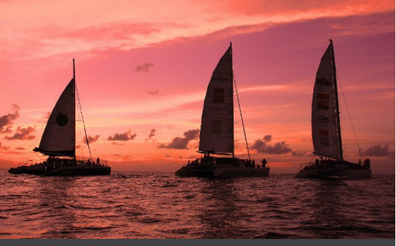 Aqua Mania Adventures' Pink Sunset Sail raised over $3000 for Breast Cancer Awareness Foundations