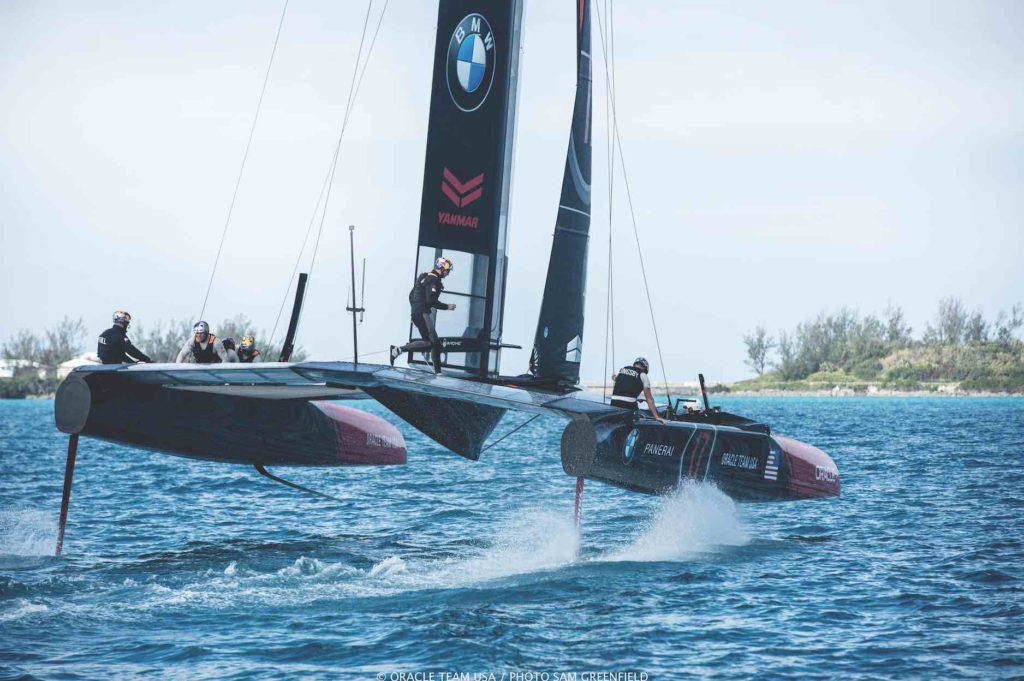 America's Cup team interview with reigning champion Oracle Team USA