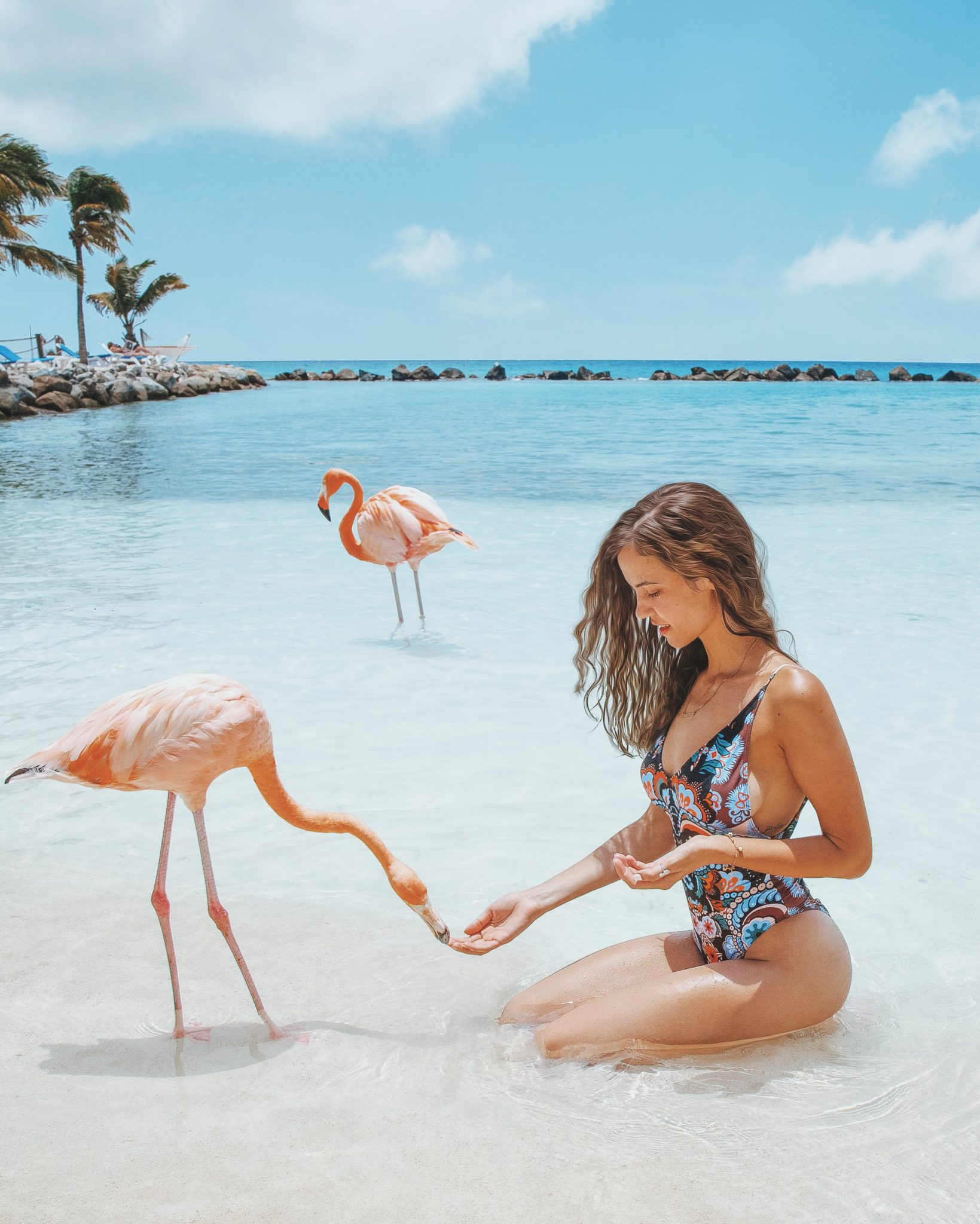 Katerina Stavreva | vacation in Aruba