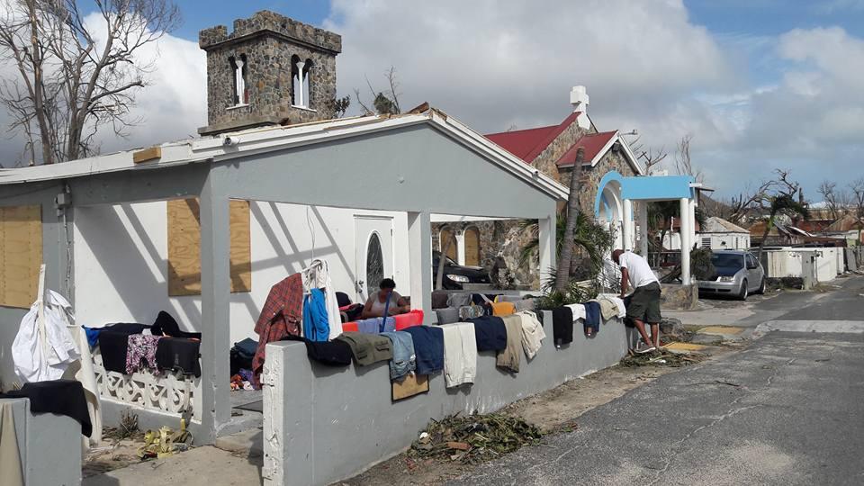 Hurricane Irma St Maarten
