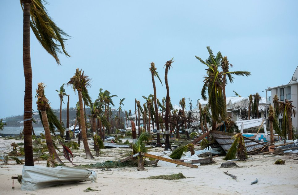 Hurricane Irma St Maarten St Martin