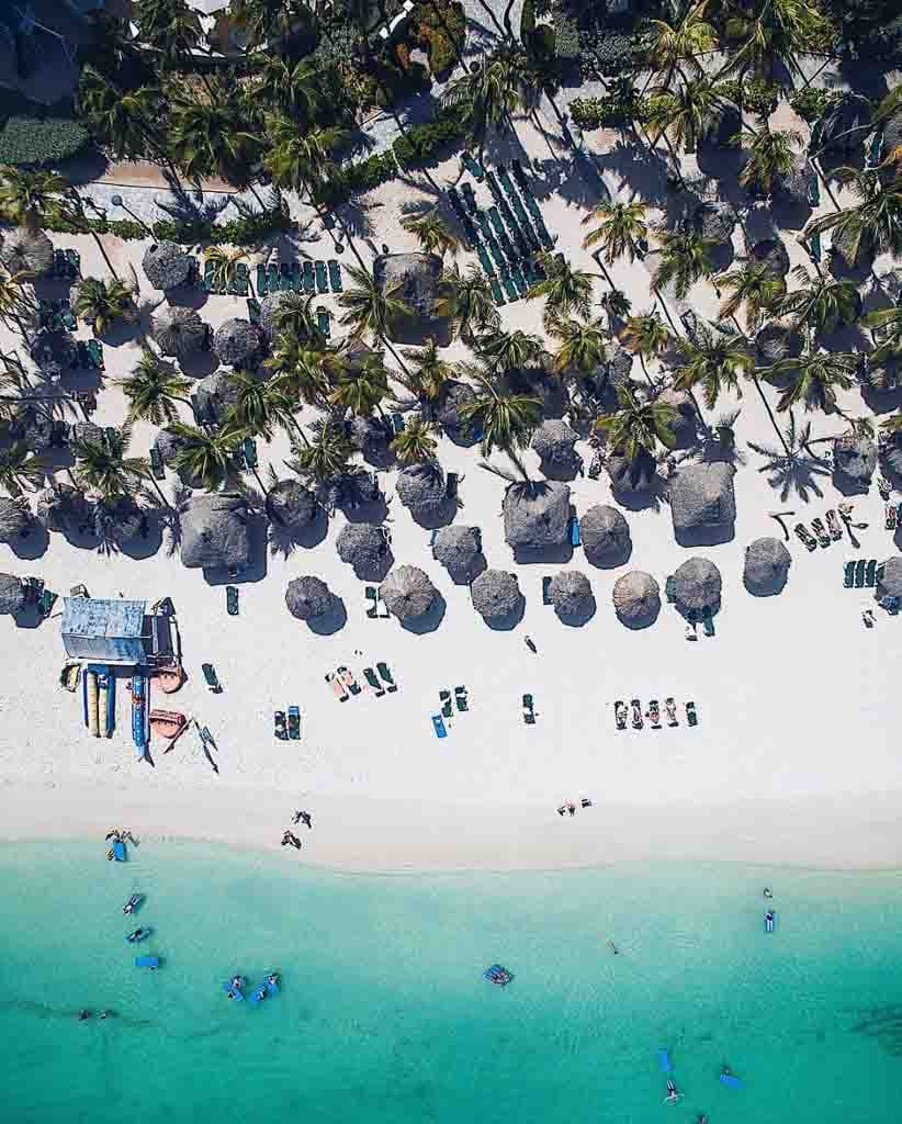 Travel photography aerial photos