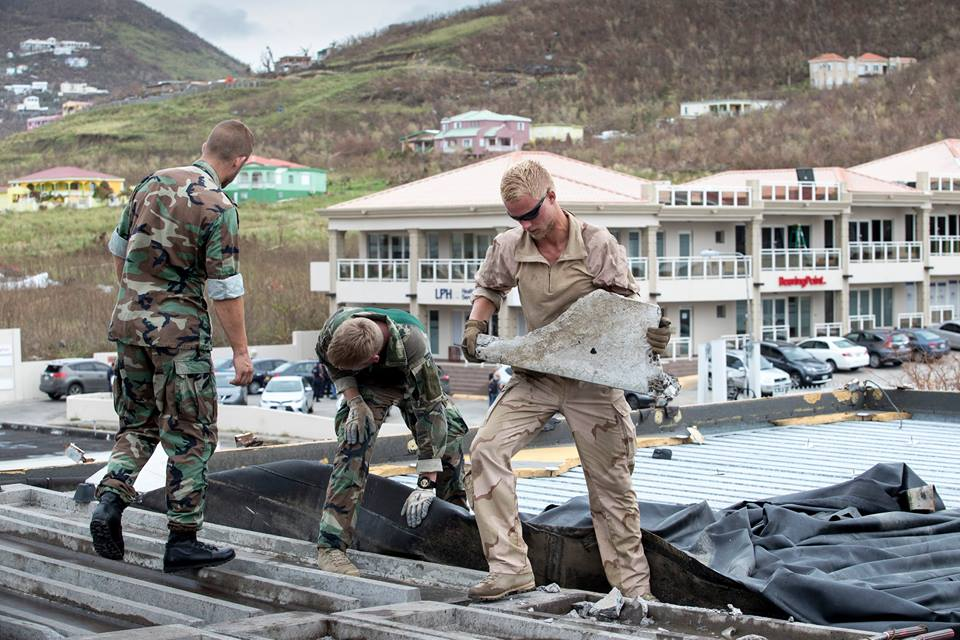 St Maarten / St Martin Recovering After Hurricane Irma