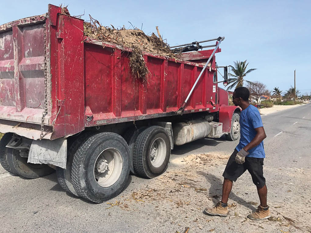 Turks and Caicos Islands recovery after Hurricane Irma