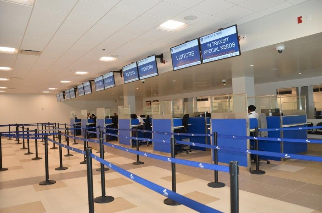 Grand Cayman Renovations continue at Owen Roberts International Airport