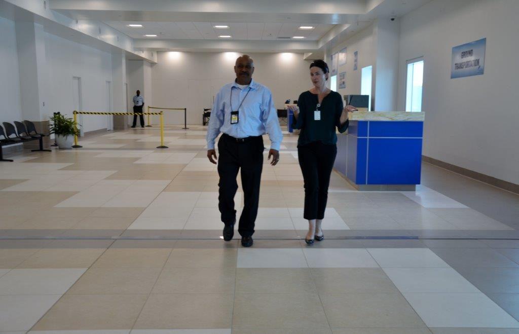 Grand Cayman Renovations continue at Owen Roberts International Airport