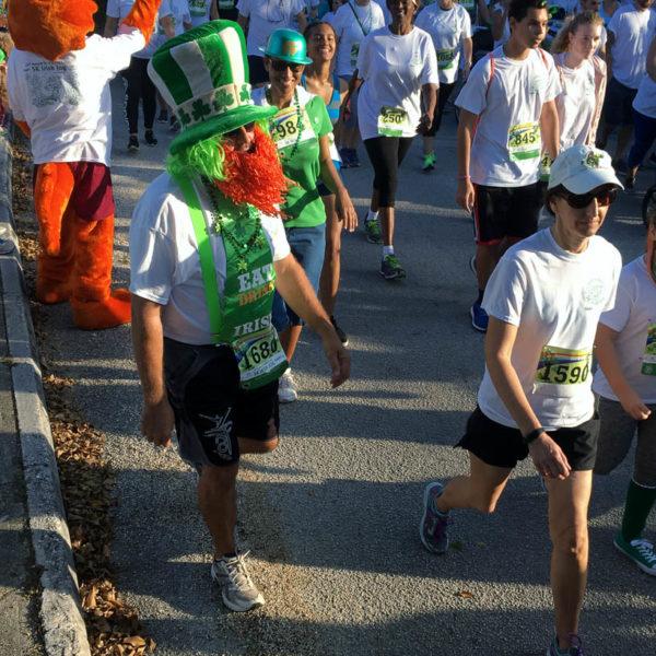 Grand Cayman's St Patrick's Day Jog