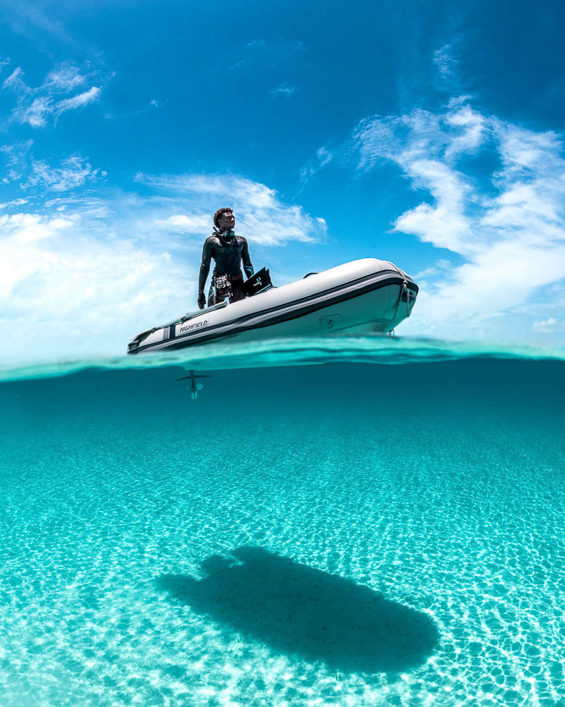 Diving in the Bahamas | Andre Musgrove