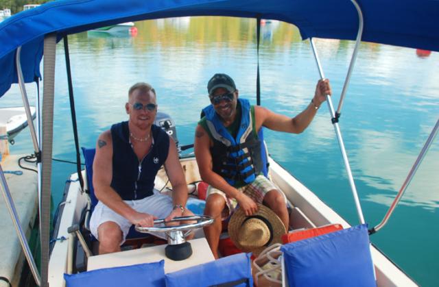 Hire a boat on Bermuda