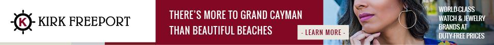 Kirk Freeport tax free shopping Grand Cayman