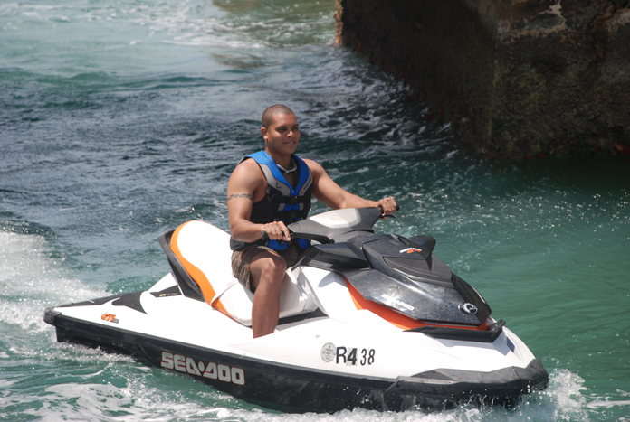 jet skiing and watersports on Bermuda
