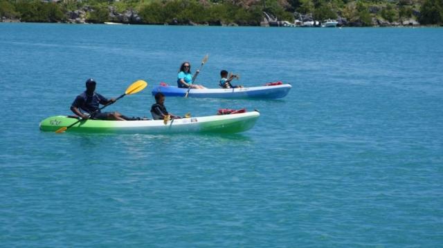 Kayaking on Bermuda